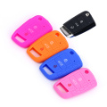 colorful durable rubber car key case for VW