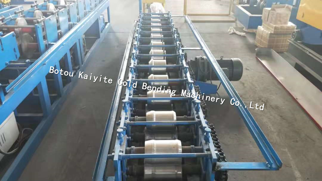 L section shutter door bottom slats roll forming machine