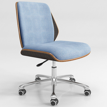 Fabric Seat Swivel Office Computer Chair