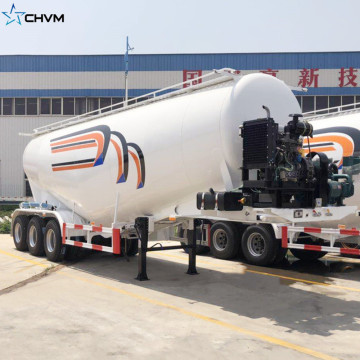 40 Tons Bulk Cement Tank Semi Trailer