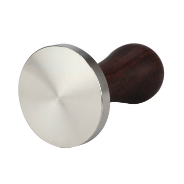 coffee Tamper With Wooden Handle