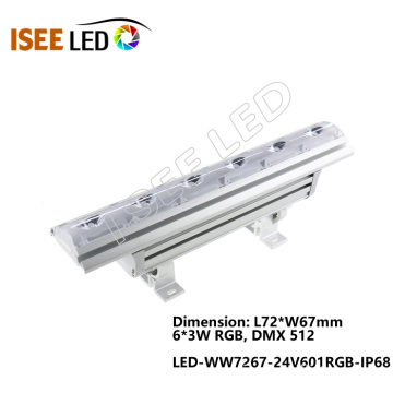 High Power Linear 72W Led DMX Wall Washer