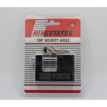 70MM Heavy Duty Rectangle Iron Padlock