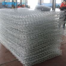 Double Twist Galvanized Woven Gabion Box/Gabion Fence