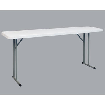 6FT Rectangle Narrow Folding Meeting Table