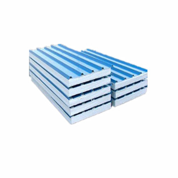 Blue Color 50mm Core Thickness EPS Sandwich Panel