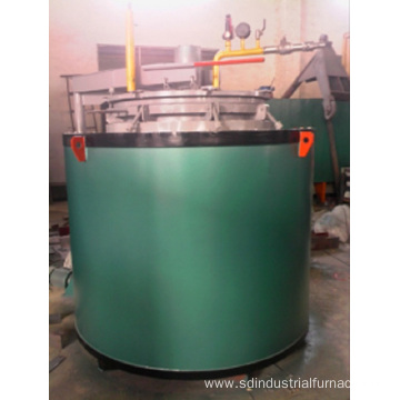 Well-Type Controlled Atmosphere Carburizing Furnace