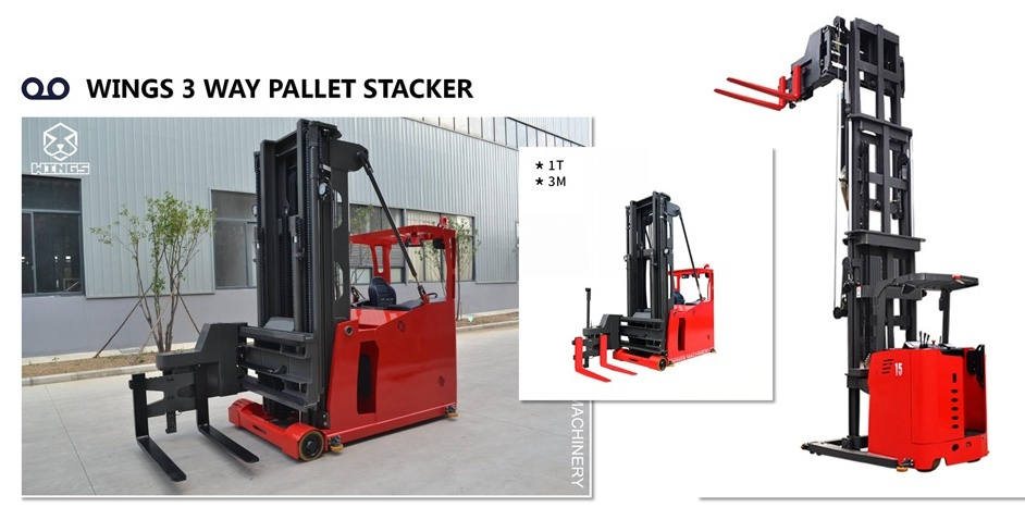 WINGS 3 WAY PALLET STACKER GOOD QUALITY_