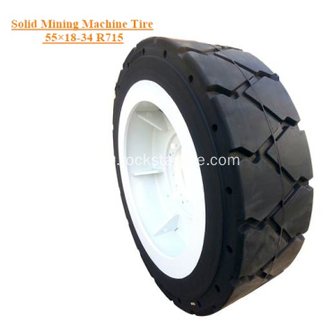 Solid Mining Machine Tire 55×18-34 R715