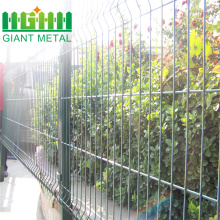 High quality 4mm PVC/Gal Welded Wire Mesh Fence