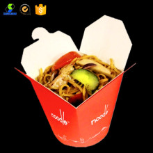 Disposable kraft take away noodle box
