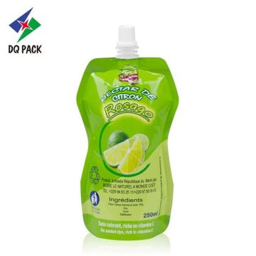 Flexible Packaging Spout Pouch Juice Pouch