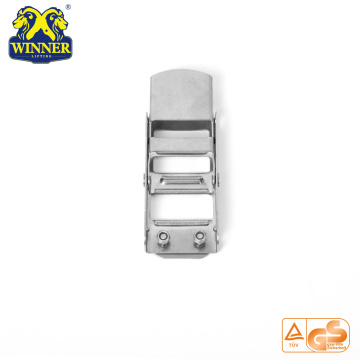 "Hot Sale Webbing Buckle 2"" Stainless Steel Overcenter Buckle"