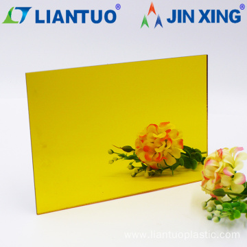 Golden Mirror PMMA Acrylic Sheet