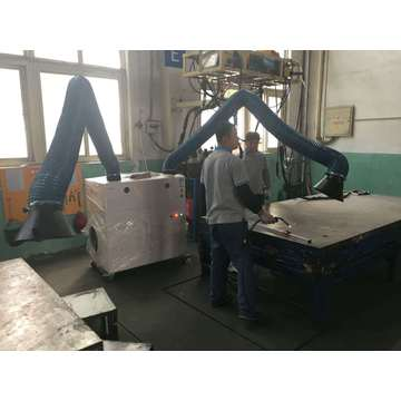 Welding Fume Extraction Smoke Extractor for Two Arms