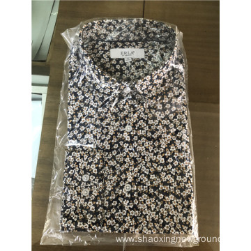 High quality print shirt in summer and spring