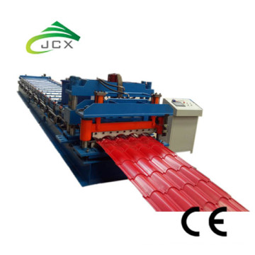 Step tile roof panel roll forming machine