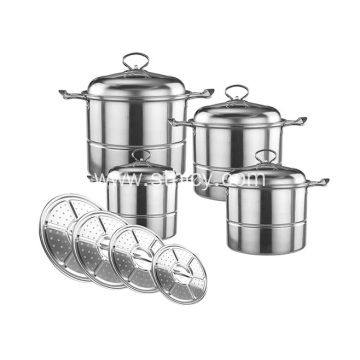 Stainless Steel Stockpot Set For Kitchen