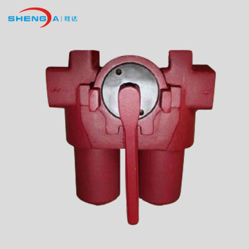 Oil pipeline strainer installation oil inline filter