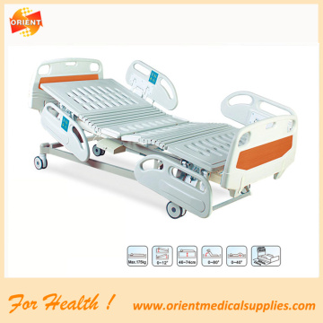 Electric bed five function hospital bed