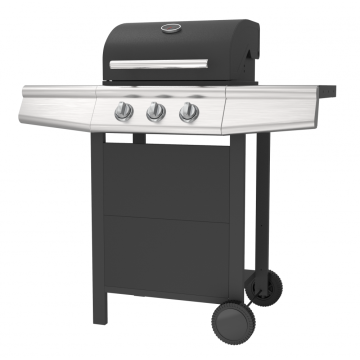 3 Burner Gas Grill Barbecue