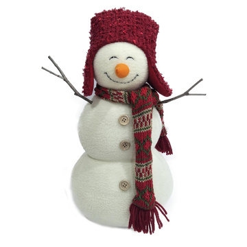 Christmas snowman decoration plush