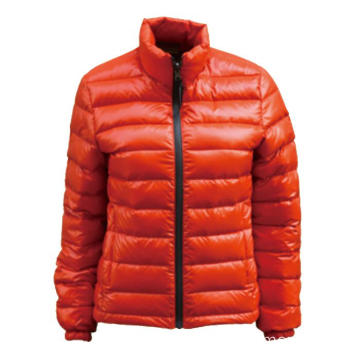 Orange lady` s Down Jacket
