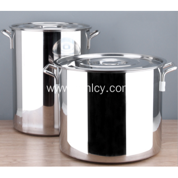 304 Square Ear Stainless Steel Soup Bucket