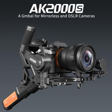 FeiyuTech AK2000S Handheld Gimbal 2.2 kg Payload Stabilizer for NIKON Canon Sony Video for DSLR Mirrorless Camera VS AK2000