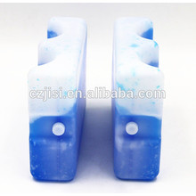 contoured gel ice pack beer bottle cooler holder
