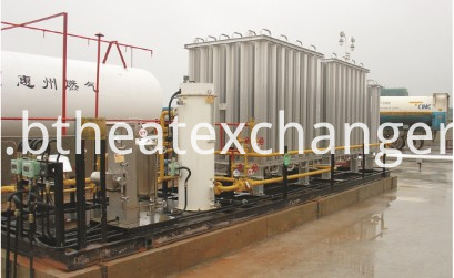 LNG TANKER VAPORIZER SKID FOR EMERGENCY APPLICATION