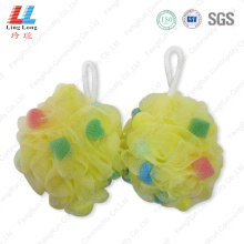 Crafted squishy mesh sponge ball industrial