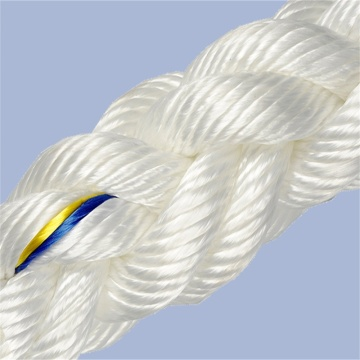 high strength braided polyester pulling nylon rope