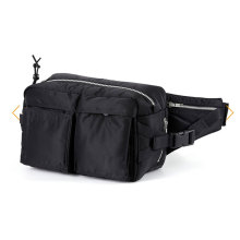 Mens Plain Fashion Fanny Pack Waist Bum Bag