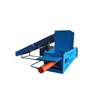 Semi automatic horizontal hydraulic baler machine