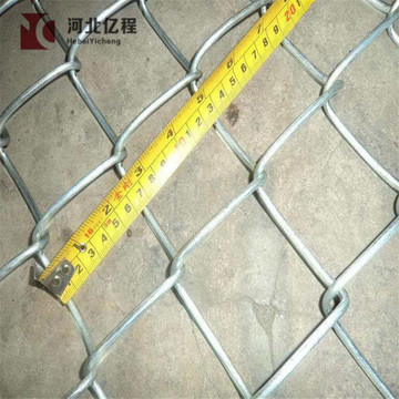 2021 safety and beautiful square chain link fence