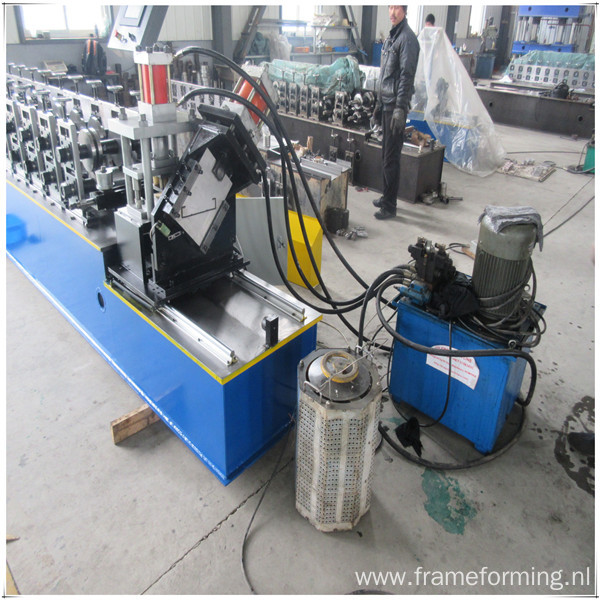 high speed stud track roll forming machine