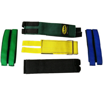 Anti-slip Fêste gear Oefenjen Bike Pedal Foot Straps