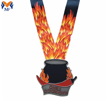 Custom child race metal cartoon medals