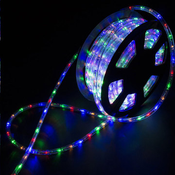 Decorative Colorful Waterproof LED Strip Rope Lights