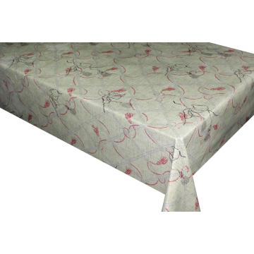 Elegant Tablecloth with Non woven backing Wholesale