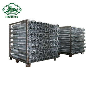 Galvanized Helical Piles For House Foundation