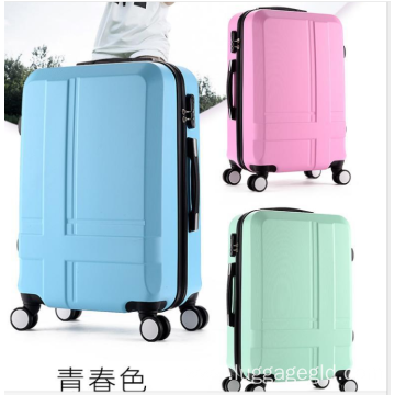 Colorful luggage best hard luggage wholesale