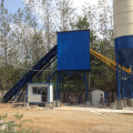 Bucket type HZS90 mini concrete batching plant