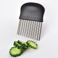 potato cutting tool stainless steel crinkle cutter