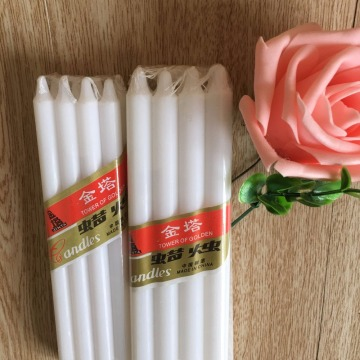 Strict Quality Control Factory Price White Pillar Candle