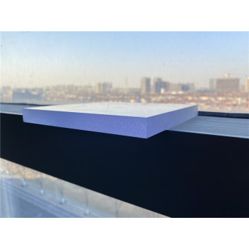 Clear plastic sheet cutting custom polycarbonate panel