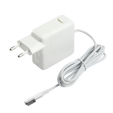White EU L T-Tip 60w Laptop charger