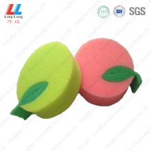 Stunning apple shape bath tools sponge