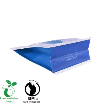 Foil Lined Flat Bottom Plastic Biodegradable Factory